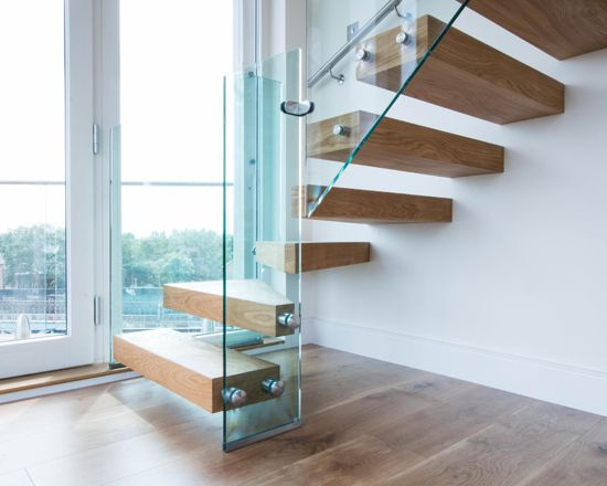Railing glass balustrades